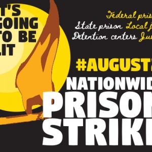 It's Going To Be List - Nationwide Prison Strike sticker
